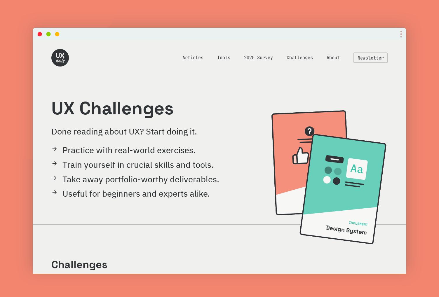 UX Challenges – wyzwania nie tylko dla początkujących projektantów