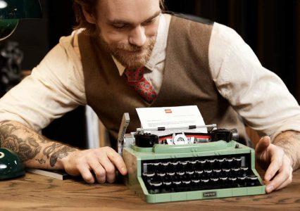 Typewriter to nowy zestaw klocków LEGO Ideas, z których zbudujesz ruchomą maszynę do pisania