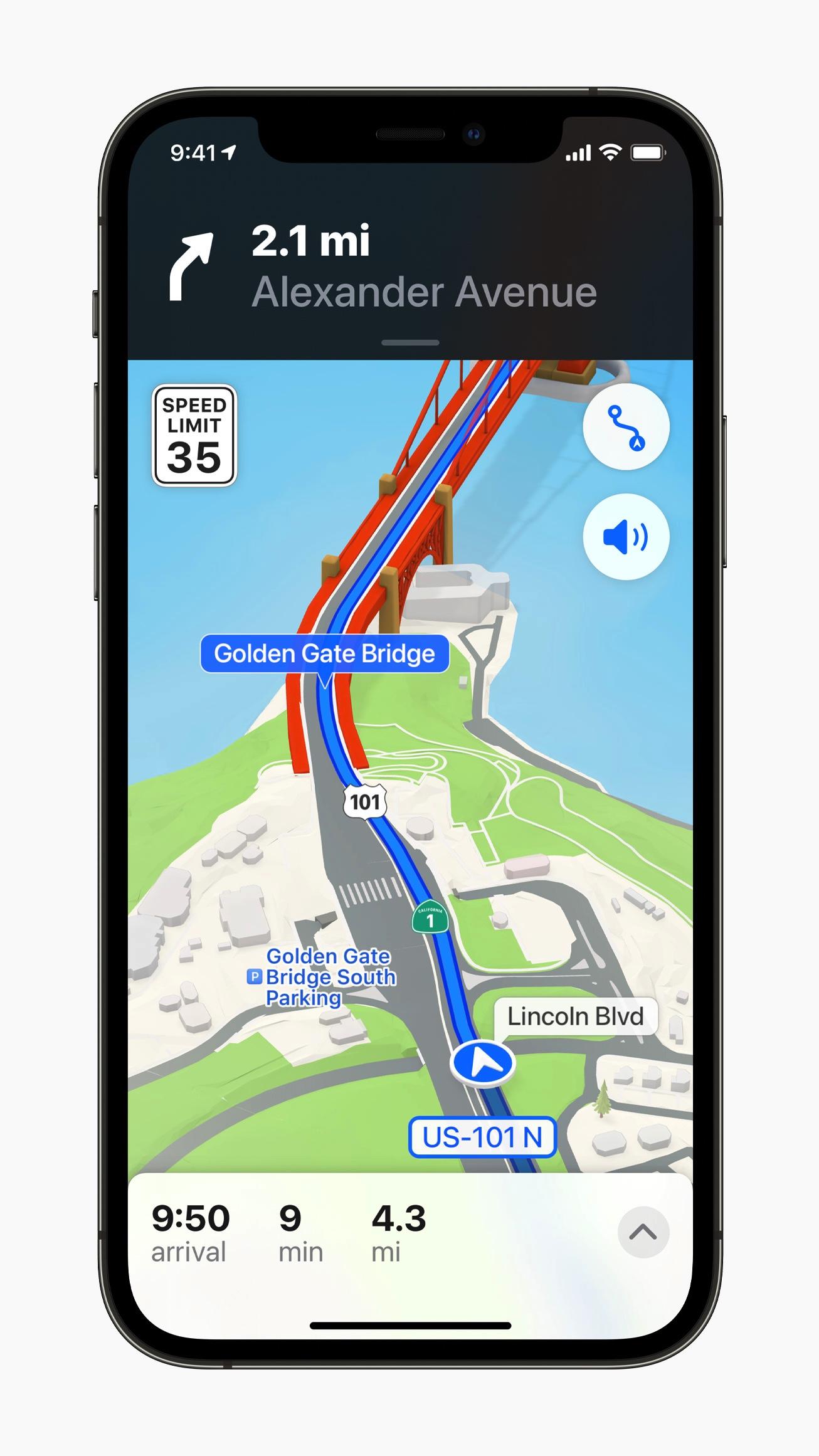 mapy iOS 15