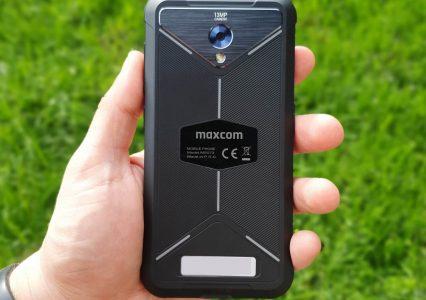 Sprawdzamy smartfon do zadań specjalnych Maxcom MS572 – pierwsze wrażenia