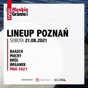Meskie Granie 2021 lineup poznan sobota