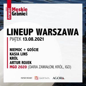 Meskie Granie 2021 lineup warszawa piatek