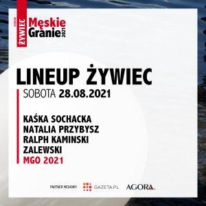 Meskie Granie 2021 lineup zywiec sobota