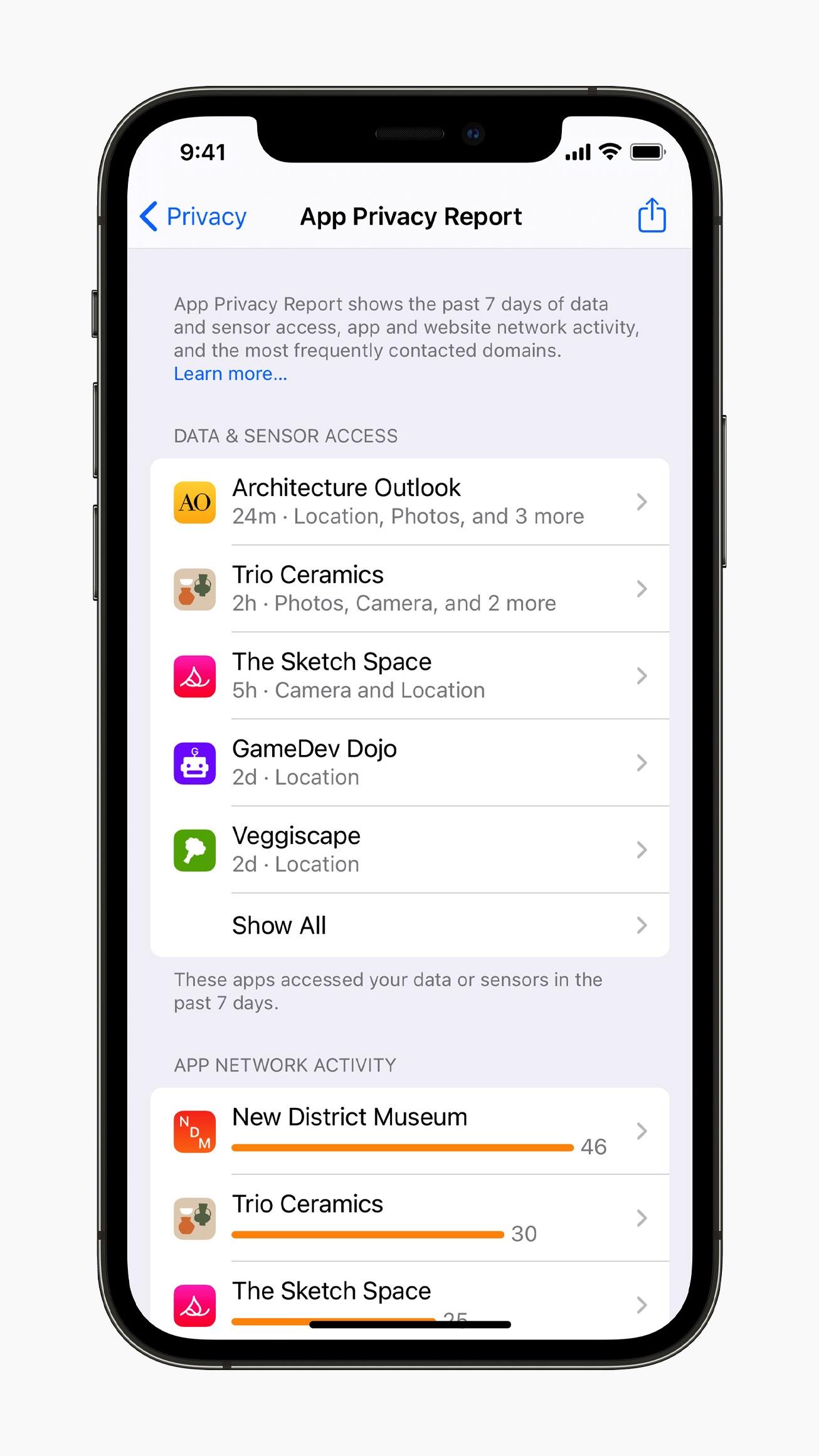 prywatność iOS 15