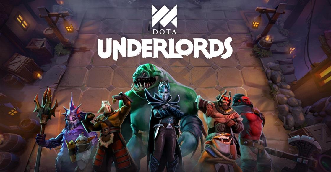Screenshot z gry Dota Underlords