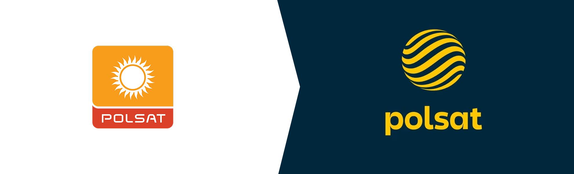 Stare i nowe logo Polsatu