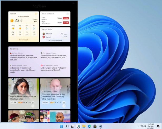 widget windows