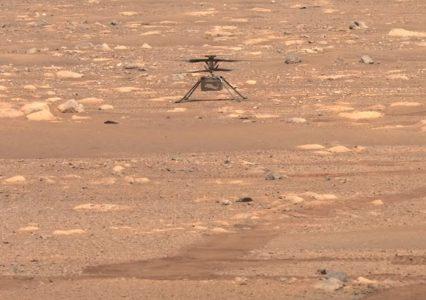Marsjański dron z kolejnym rekordem. Tym razem pokonał prawie pół kilometra