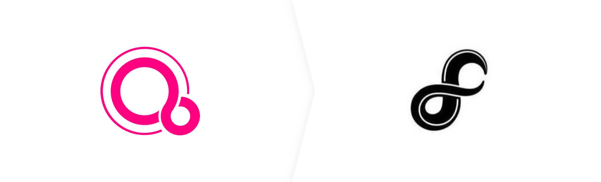 Fuchsia OS new logo