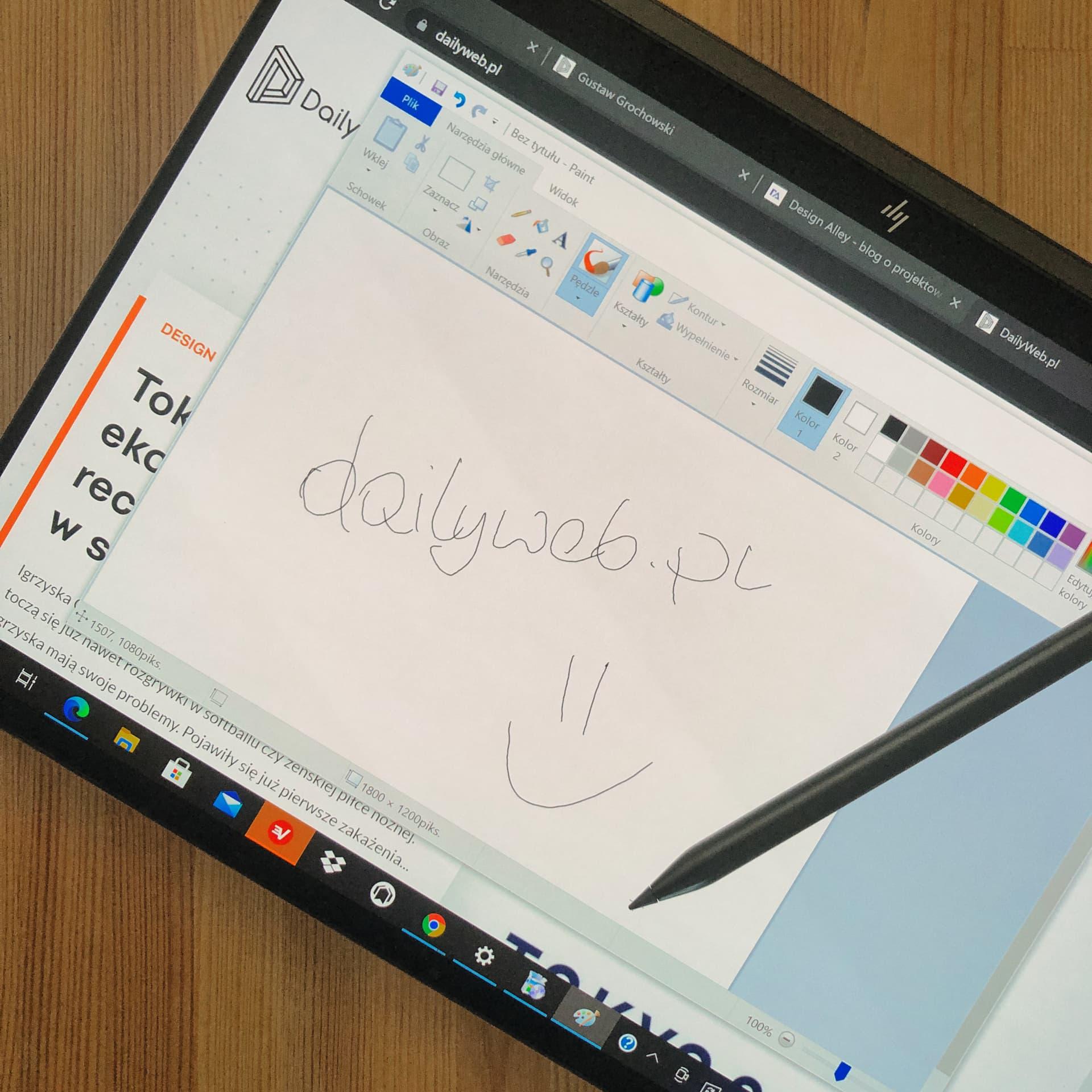 Spectre x360 14 – konwertowalny laptop od HP o niebanalnym wyglądzie