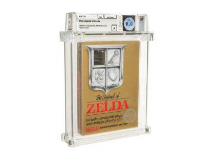 The Legend of Zelda sprzedane za prawie 1 mln dolarów. To rekord w świecie gier