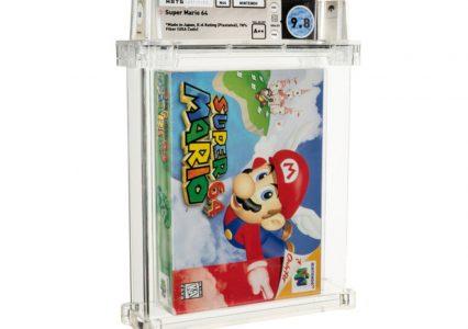 Super Mario przebił niedawny rekord Zeldy! 1,5 mln dolarów za kopię gry na Nintendo 64