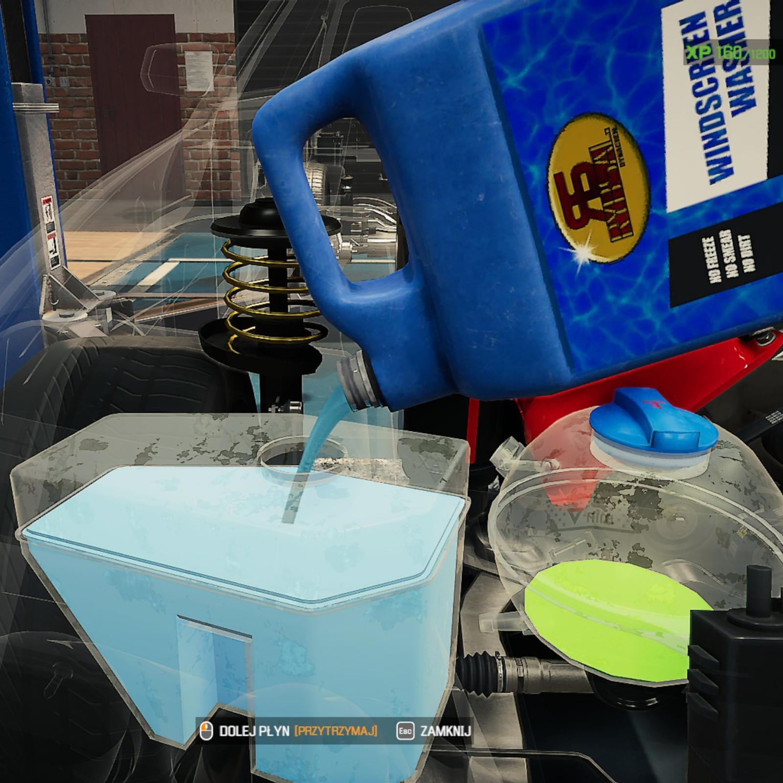 Zrzut ekranu z gry Car Mechanic Simulator 2021