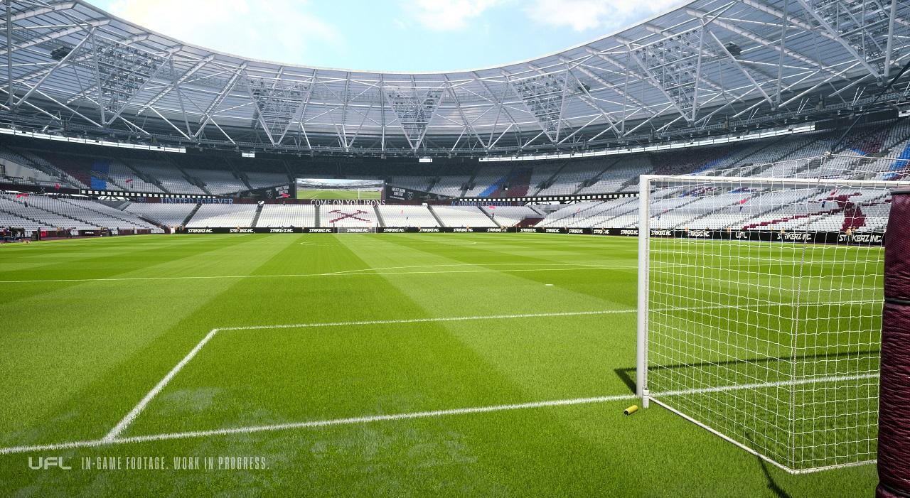 UFL - konkurent FIFA i PES - zrzut ekranu