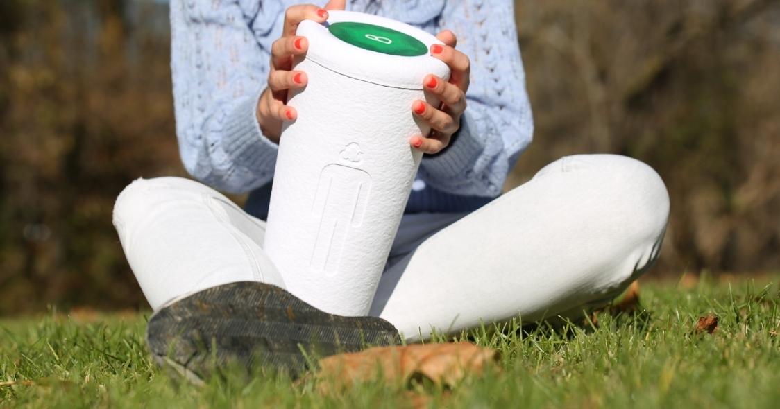 Urna Bios Incube - ludzkie prochy w doniczce na rośliny