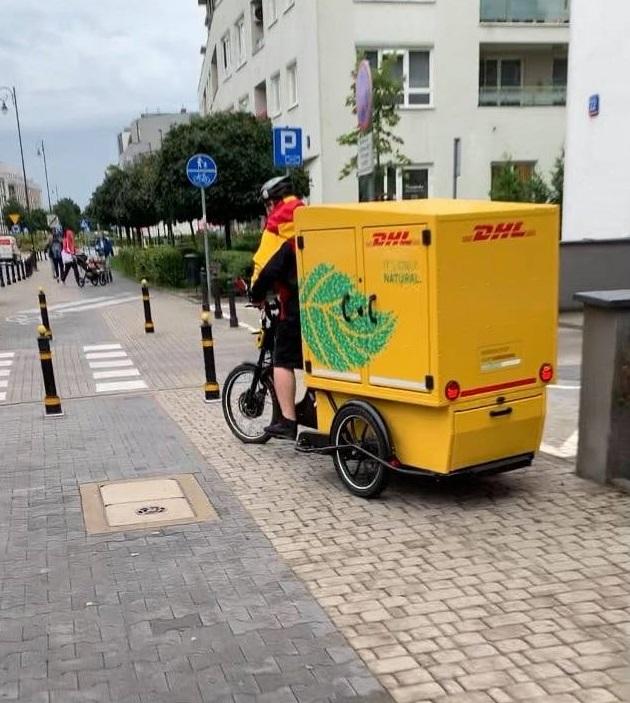 dhl rower cargo