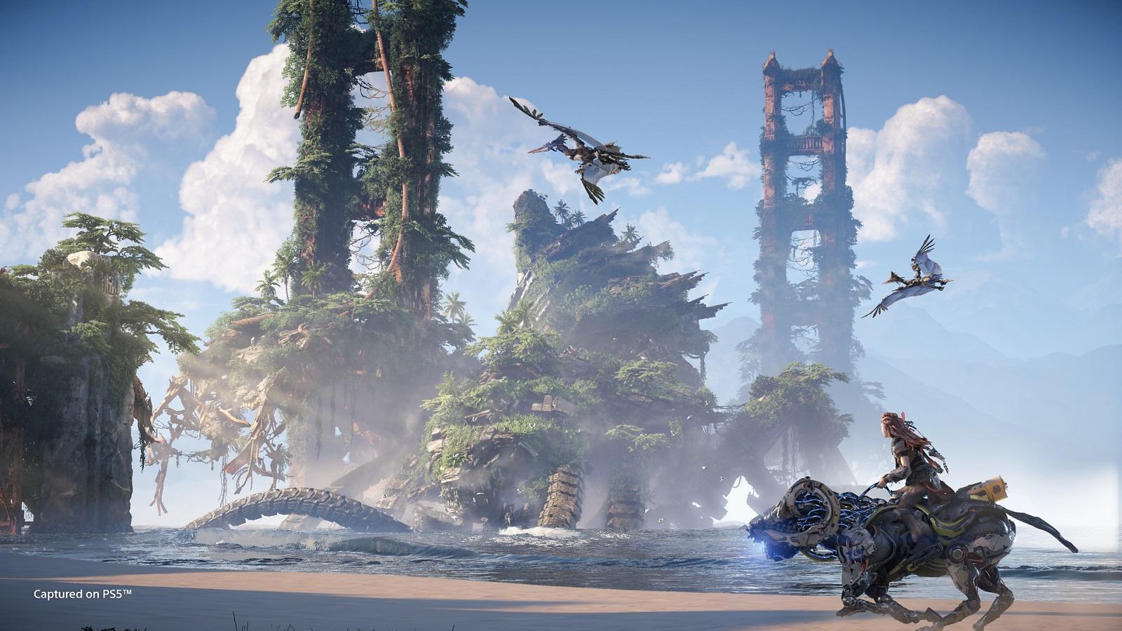 horizon: forbidden west - grafika koncepcyjna