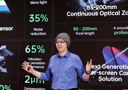 Oppo prezentuje 4 nowe, potencjalnie przełomowe, technologie w aparatach smartfonów