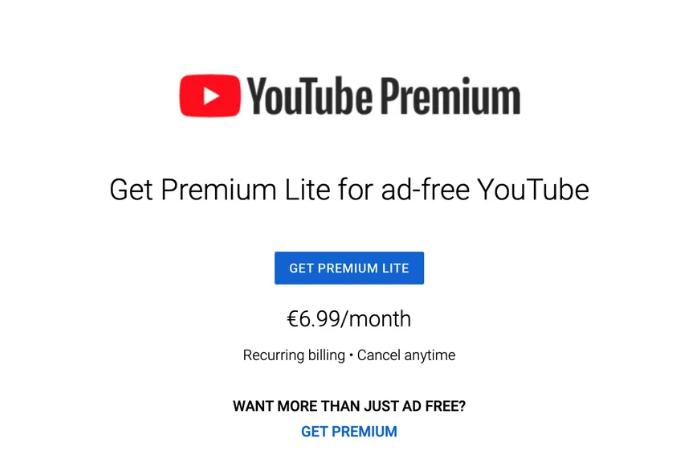 youtube lite