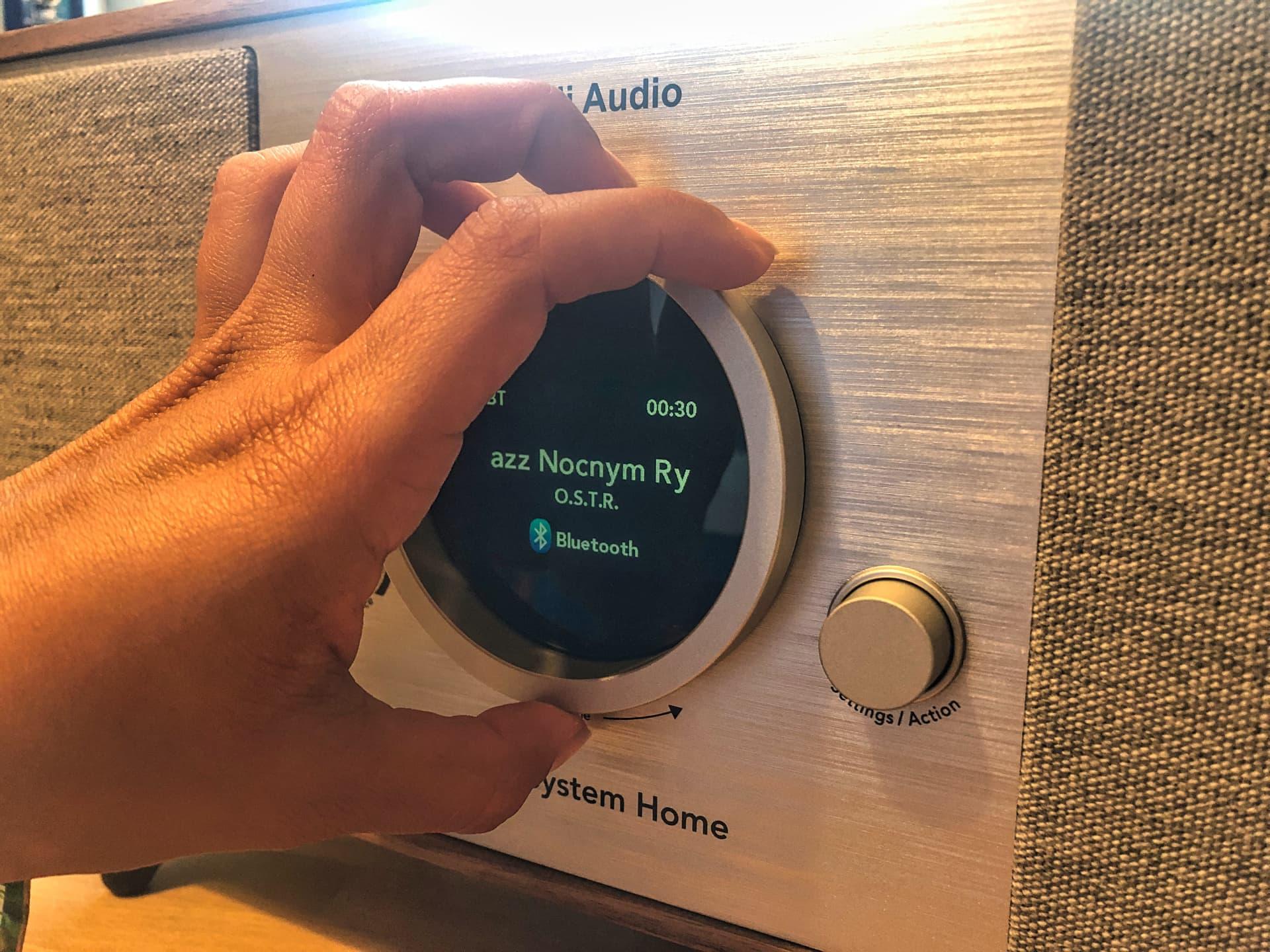 Tivoli Audio Music System Home pokrętło
