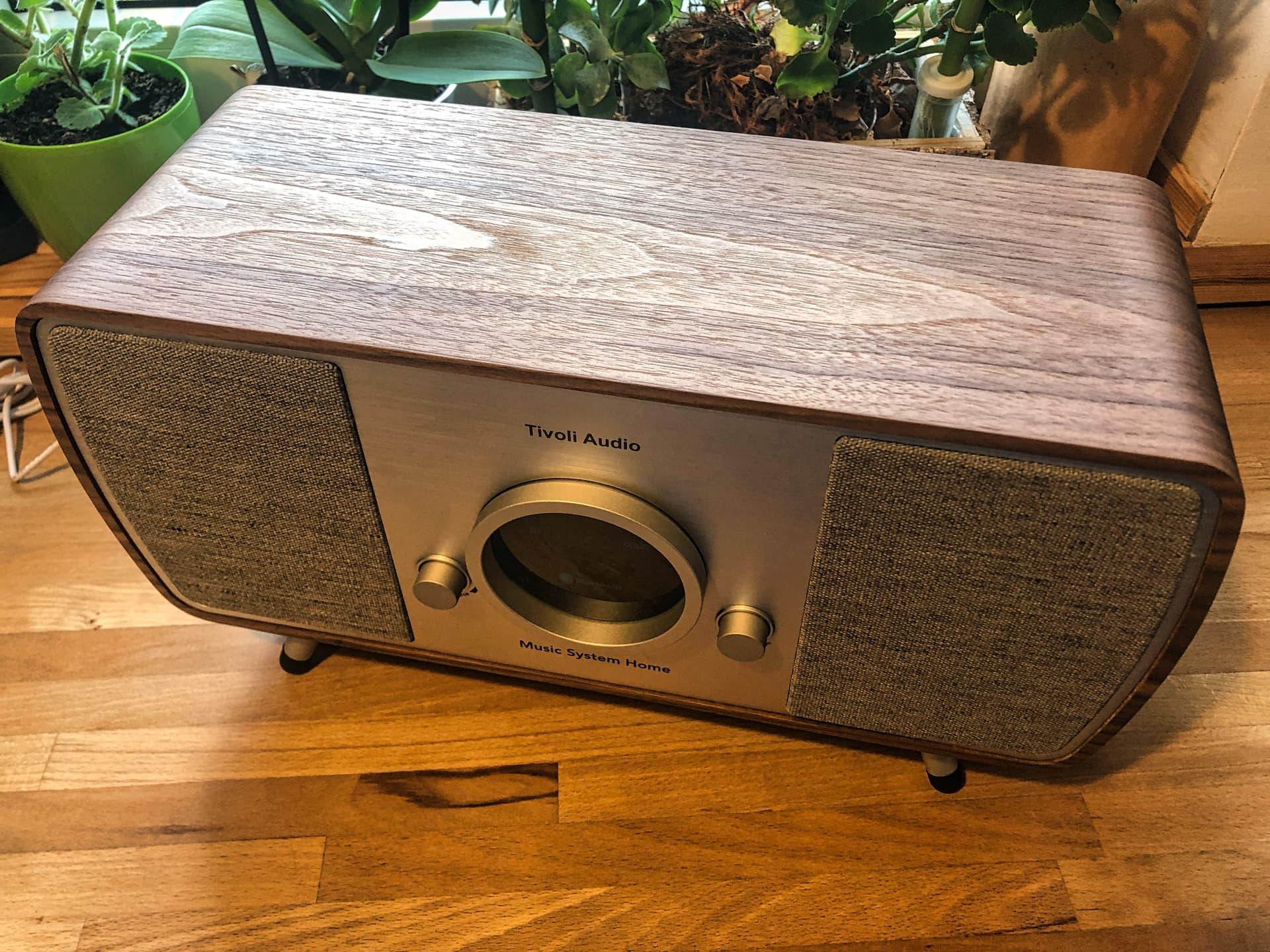 Tivoli Audio Music System Home wygląd i jakość wykonania