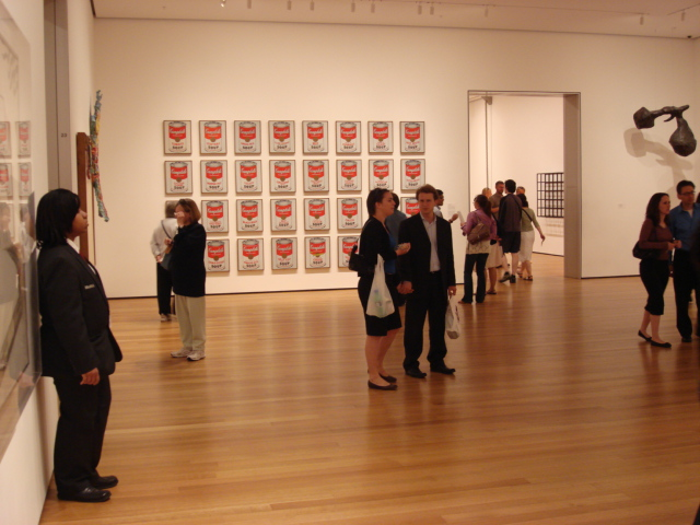 Andy Warhol: Campbell's Soup Cans (MoMA - New York)