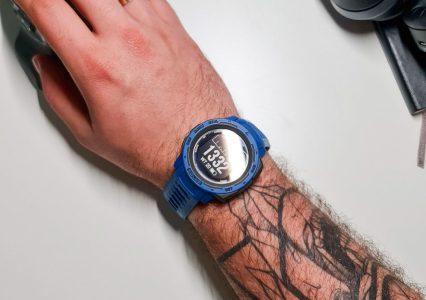 Garmin Instinct Solar to smartwatch z GPS, który wytrzyma naprawdę wiele