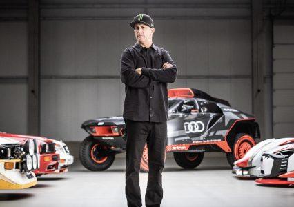 Niesamowity Ken Block i cztery pierścienie elektrycznego Audi. To brzmi jak ciekawa przygoda!