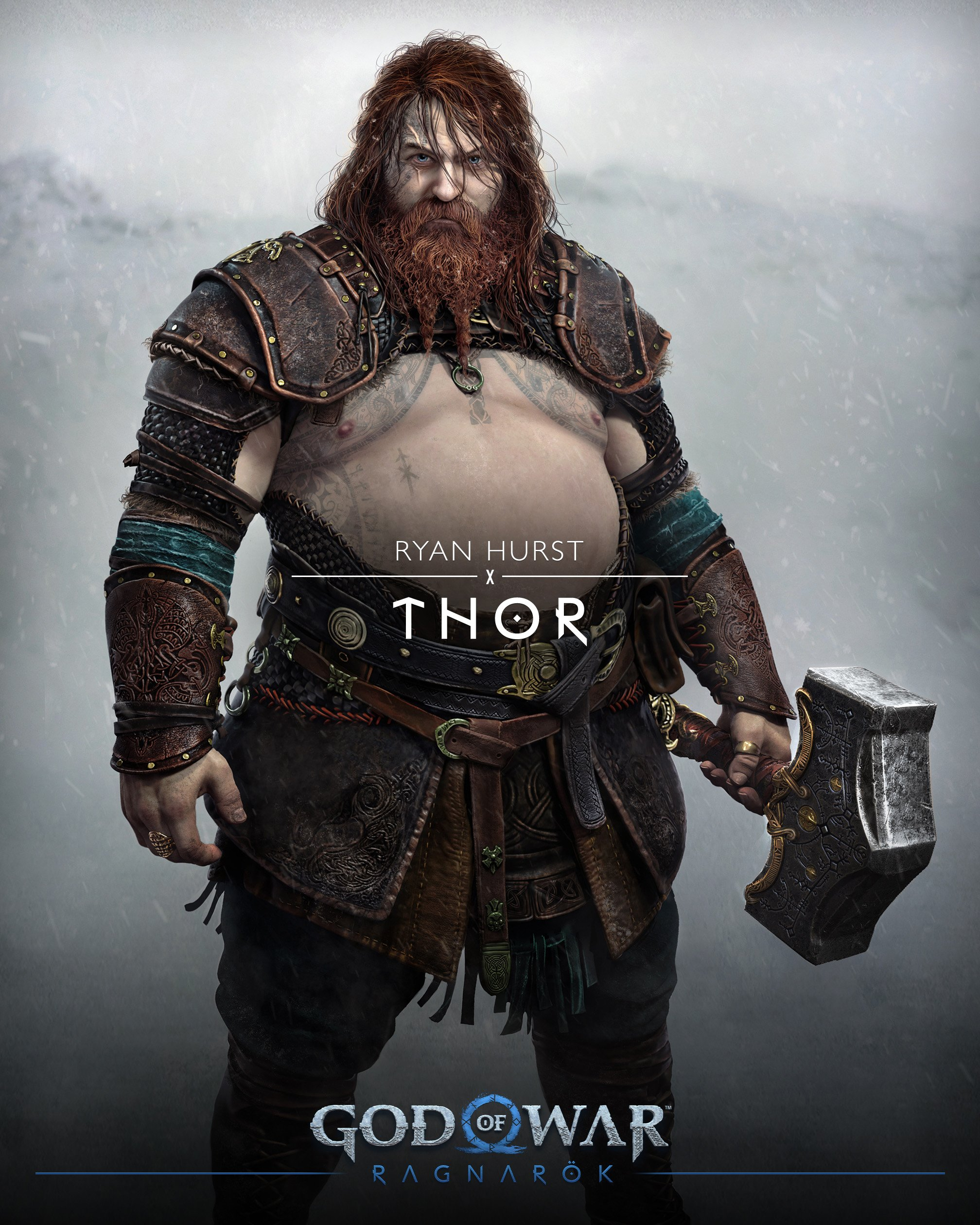 thor w God of War Ragnarok