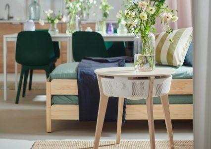 IKEA Starkvind – oczyszczacz powietrza i jednocześnie… stolik!