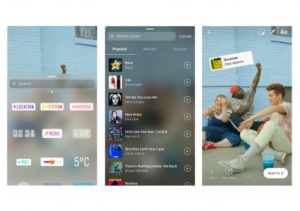 Muzyka dostępna na Instagram Stories w Polsce! Jak włączyć?