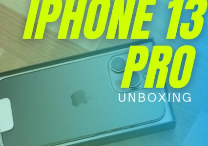 Właśnie dostałem swojego iPhone 13 Pro, przed Wami szybki unboxing