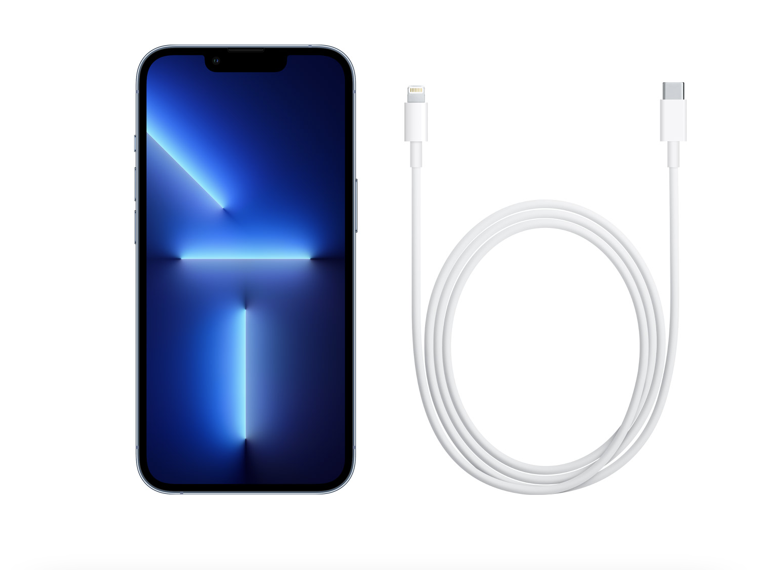 iphone 13 usb-c lightning cable