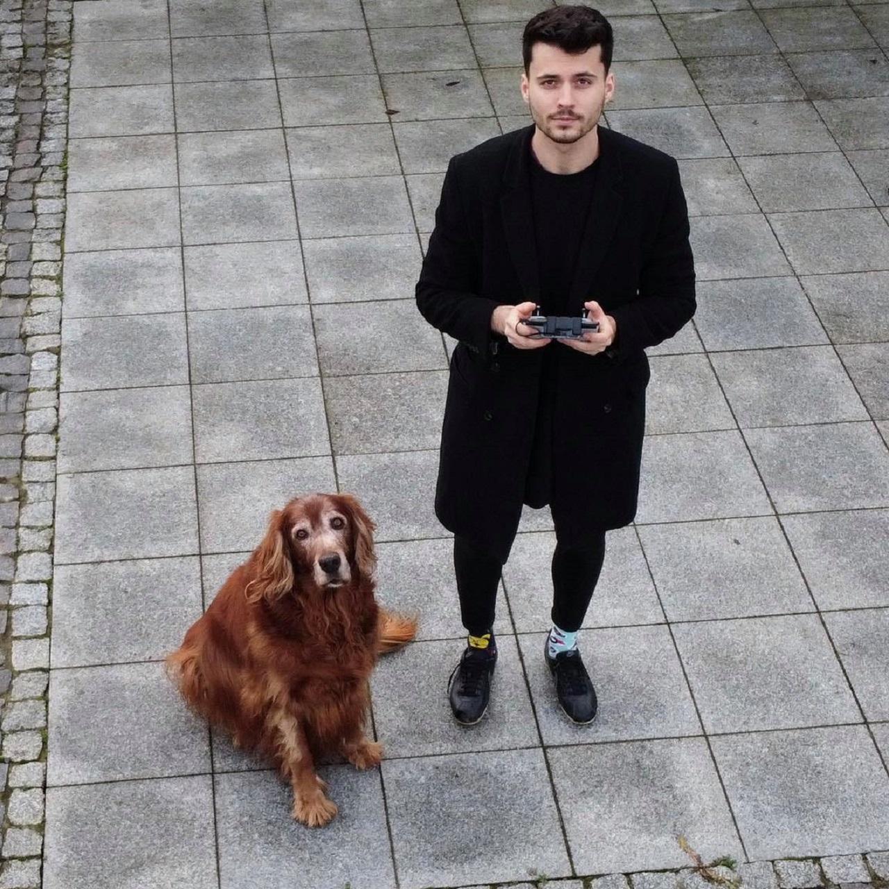 Maciej Szczepański - student Uniwersytetu Przyrodniczego we Wrocławiu, którego pasja to druk 3D i protezy 3D dla psów