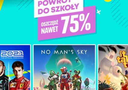 Powrót do szkoły z PlayStation Store! Mega rabaty na początek roku