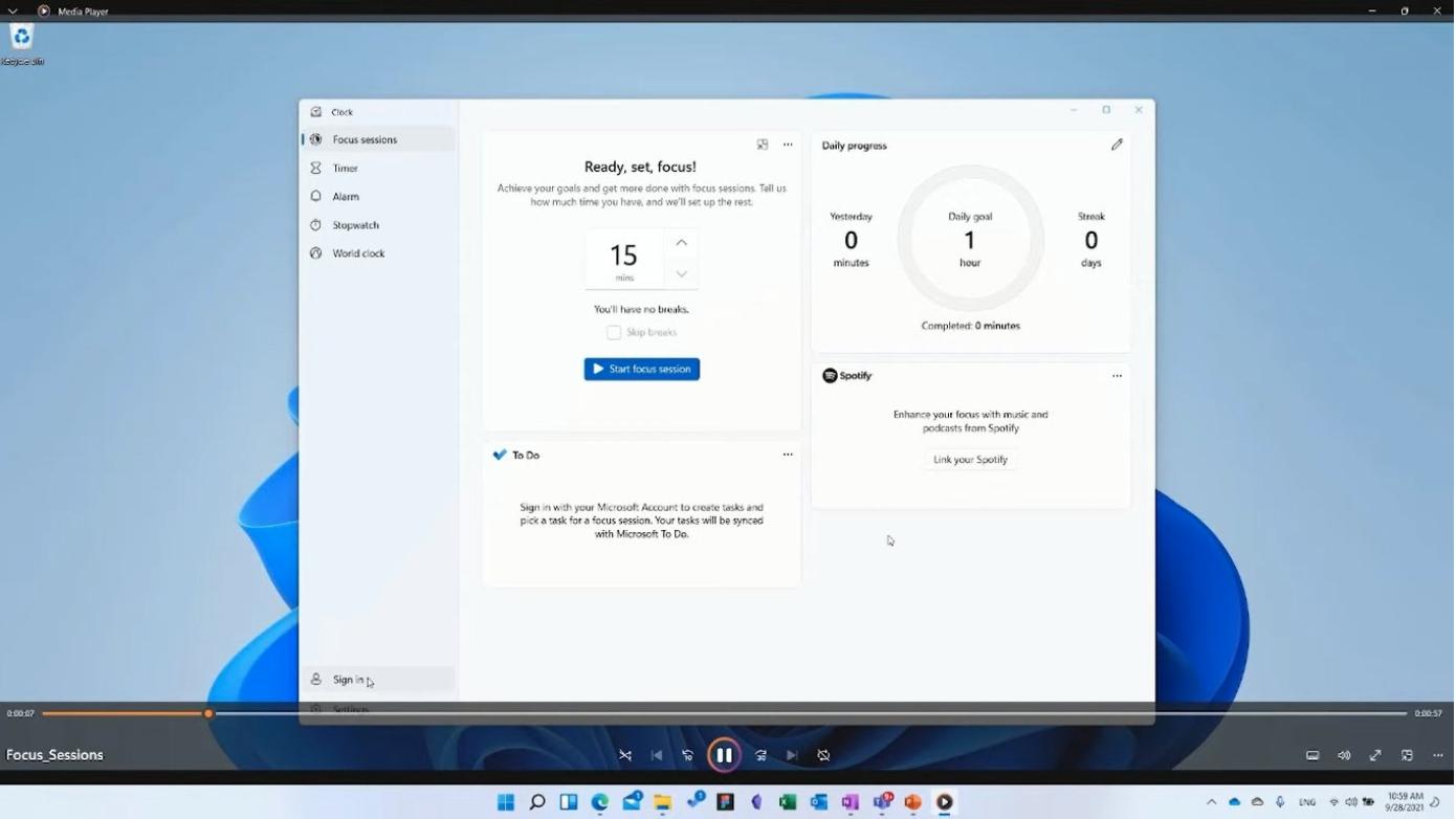 Windows 11 odtwarzacz multimediów Media Player od Microsoft