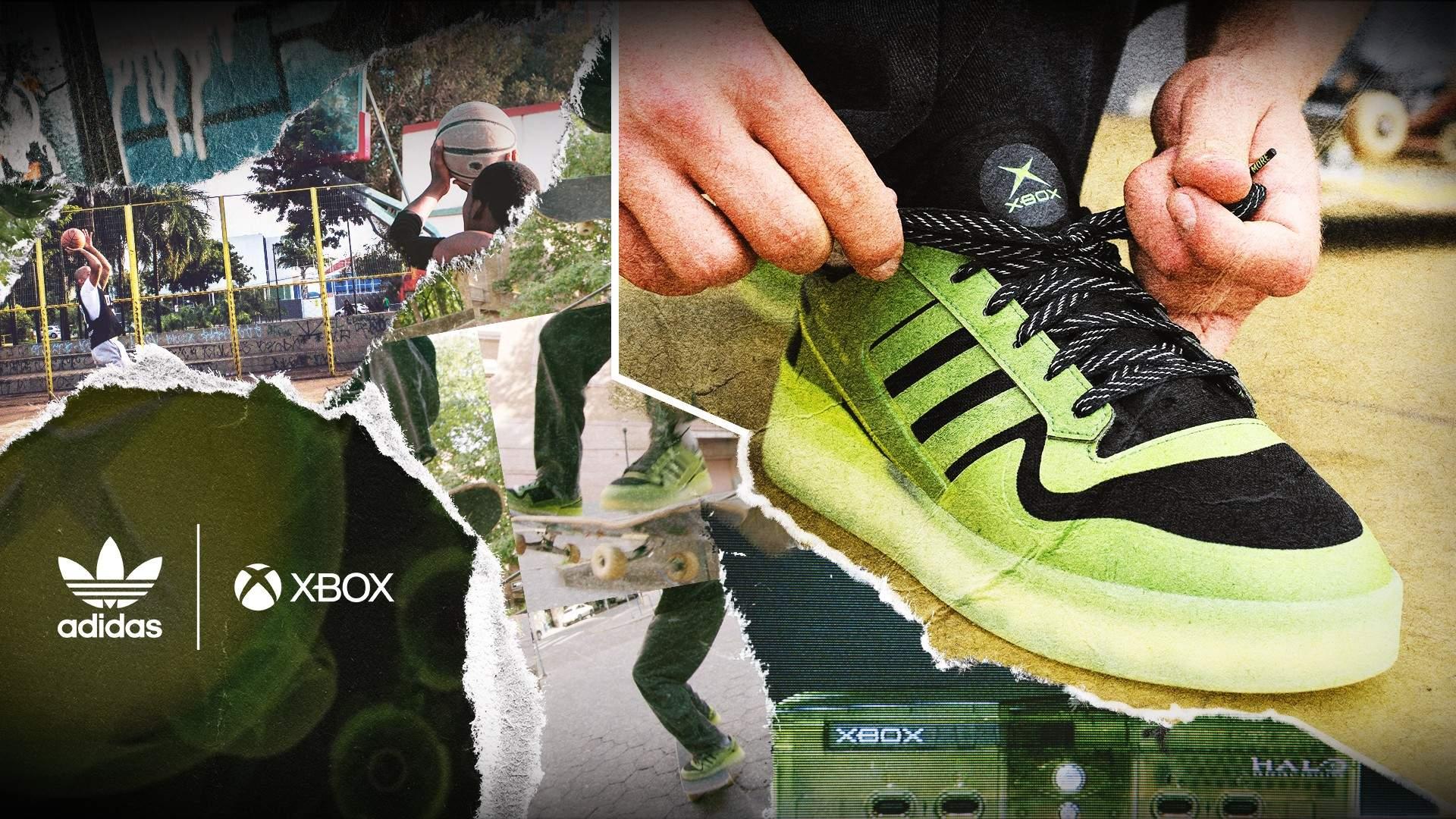 xbox adidas buty sneakersy