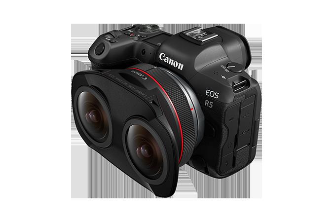 canon r5 Canon RF 5.2mm F2.8 L vr 3d