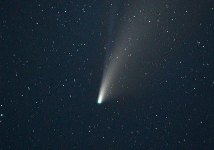 Największa odkryta kometa zmierza w stronę Słońca. Są powody do paniki?