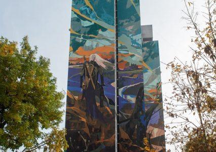 W Łodzi powstał mural z Wiedźminem. To największy mural w Polsce